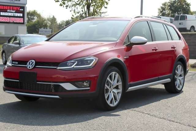 2019 Tornado Red Volkswagen Golf Alltrack SE Automatic AWD 1.8L 4 cyls Engine