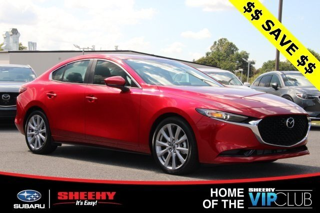 2019 Soul Red Crystal Metallic Mazda Mazda3 w/Select Pkg 4 Door Automatic FWD