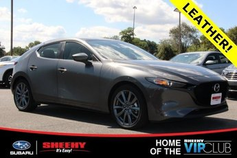 2019 Machine Gray Metallic Mazda Mazda3 w/Preferred Pkg Hatchback 2.5L 4 cyls Engine Automatic