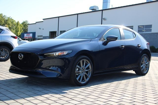 2019 Deep Crystal Blue Mica Mazda Mazda3 w/Preferred Pkg 4 Door Hatchback 2.5 L Engine Automatic FWD