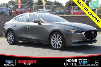 2019 Machine Gray Metallic Mazda Mazda3 w/Select Pkg Sedan Automatic 2.5L 4 cyls Engine 4 Door AWD