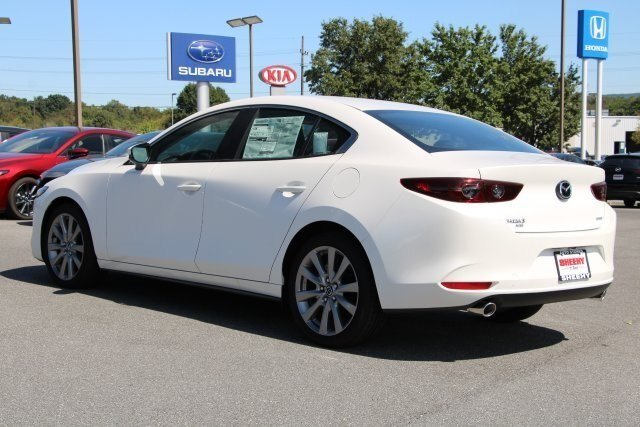 2019 Snowflake White Pearl Mica Mazda Mazda3 w/Select Pkg Automatic 4 Door 2.5L 4 cyls Engine Sedan AWD