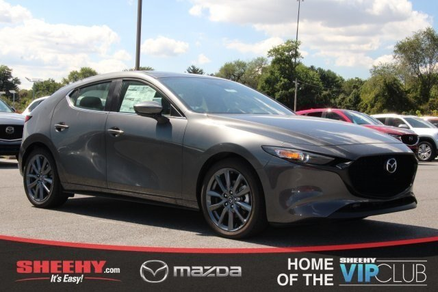 2019 Machine Gray Metallic Mazda Mazda3 Hatchback AWD 4 Door Automatic