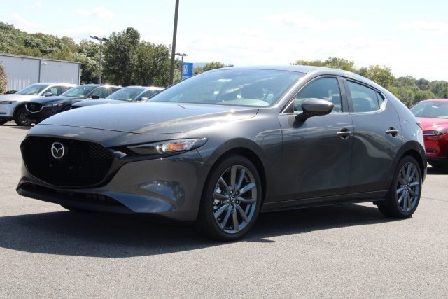 2019 Machine Gray Metallic Mazda Mazda3 AWD 2.5L 4 cyls Engine Automatic