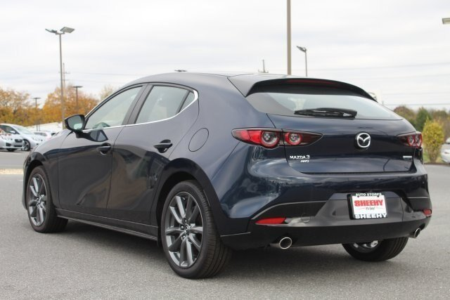 2019 Deep Crystal Blue Mica Mazda Mazda3 AWD Hatchback 4 Door