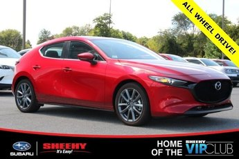 2019 Soul Red Crystal Metallic Mazda Mazda3 2.5L 4 cyls Engine Hatchback 4 Door