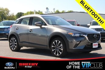 2019 Machine Gray Metallic Mazda CX-3 Touring 4 Door AWD Automatic SUV