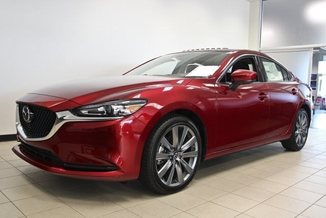 2019 Soul Red Crystal Metallic Mazda Mazda6 Grand Touring 2.5L 4 cyls Engine Sedan Automatic FWD 4 Door