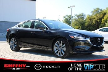 2019 Jet Black Mica Mazda Mazda6 Touring Automatic 4 Door FWD 2.5L 4 cyls Engine