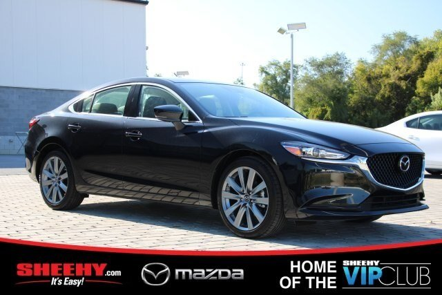 2019 Jet Black Mica Mazda Mazda6 Touring FWD 4 Door Automatic 2.5L 4 cyls Engine