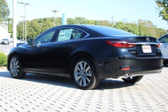 2019 Jet Black Mica Mazda Mazda6 Touring 4 Door FWD 2.5L 4 cyls Engine Automatic