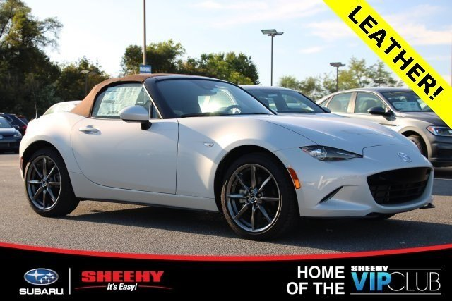 2019 Ceramic Metallic Mazda MX-5 Miata Grand Touring 2 Door RWD Automatic Convertible 2.0L 4 cyls Engine