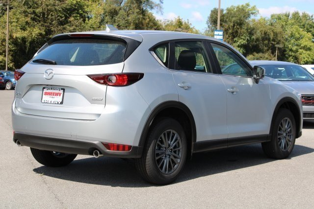 2019 Sonic Silver Metallic Mazda CX-5 Sport FWD 4 Door 2.5L 4 cyls Engine