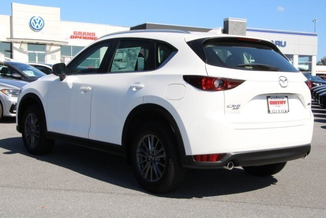 2019 Snowflake White Pearl Mica Mazda CX-5 Sport Automatic AWD 2.5L 4 cyls Engine