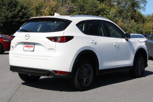 2019 Snowflake White Pearl Mica Mazda CX-5 Sport AWD 4 Door 2.5L 4 cyls Engine Automatic SUV