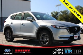 2019 Sonic Silver Metallic Mazda CX-5 Sport 4 Door 2.5L 4 cyls Engine Automatic SUV AWD