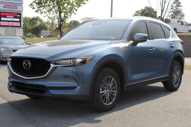 2019 Eternal Blue Mica Mazda CX-5 Touring SUV Automatic 4 Door AWD 2.5L 4 cyls Engine