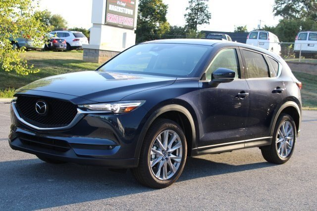 2019 Deep Crystal Blue Mica Mazda CX-5 Grand Touring AWD Automatic SUV