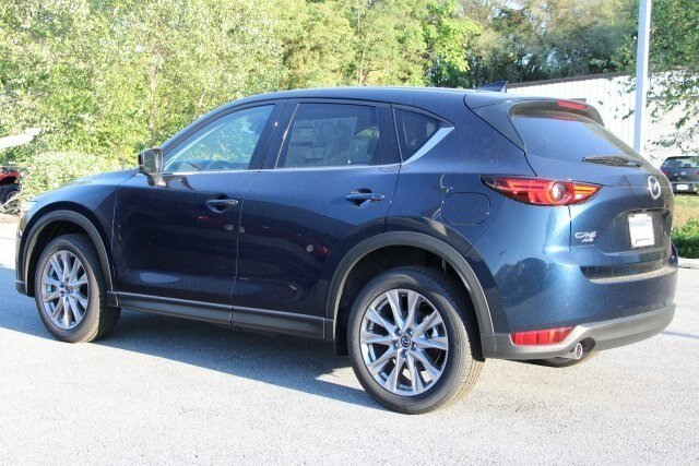 2019 Deep Crystal Blue Mica Mazda CX-5 Grand Touring AWD 2.5L 4 cyls Engine Automatic SUV
