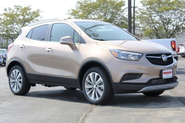 2019 Coppertino Metallic Buick Encore Preferred 4 Door AWD Automatic SUV 1.4L 4 cyls Engine