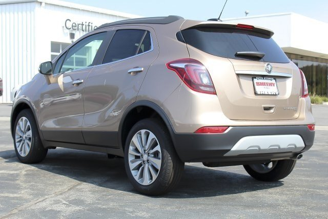 2019 Coppertino Metallic Buick Encore Preferred SUV 4 Door 1.4L 4 cyls Engine Automatic AWD