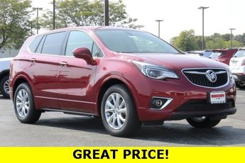 2019 Chili Red Metallic Buick Envision Preferred AWD 4 Door 2.5L 4 cyls Engine Automatic SUV