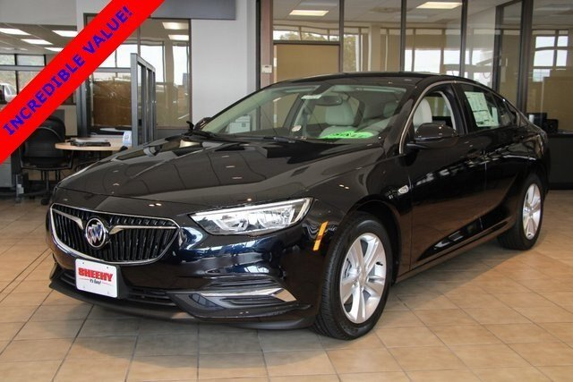 2019 Dark Moon Blue Metallic Buick Regal Sportback Preferred 4 Door Hatchback Automatic FWD