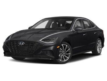 2021 Phantom Black Hyundai Sonata Limited I4 Engine Car Automatic