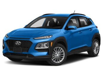 2020 Surf Blue Hyundai Kona SEL SUV AWD 4 Door