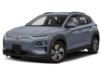 2021 Galactic Gray Hyundai Kona EV Ultimate 4 Door Automatic SUV