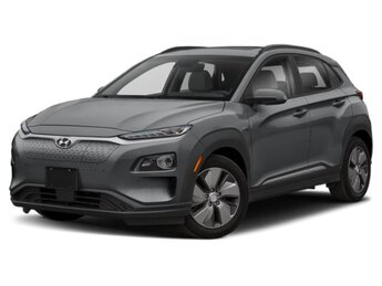 2021 Sonic Silver Hyundai Kona EV Ultimate SUV Automatic 150kW 201HP Electric Engine