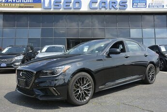 2019 Victoria Black Genesis G80 3.3T Sport V6 Engine Automatic 4 Door Sedan