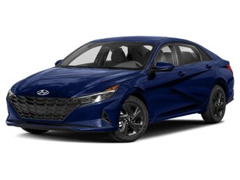2021 Intense Blue Hyundai Elantra SEL Automatic 2.0L 4-Cylinder DOHC 16V Engine Car FWD 4 Door