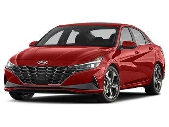 2021 Scarlet Red Pearl Hyundai Elantra SEL 2.0L 4-Cylinder DOHC 16V Engine 4 Door Car Automatic