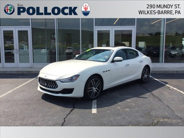 2018 Maserati Ghibli Base Automatic 4 Door Sedan 3.0L V6 Engine