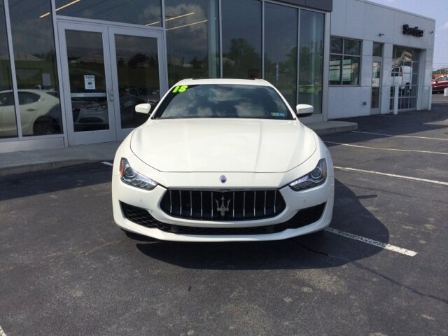 2018 Maserati Ghibli Base 3.0L V6 Engine RWD Automatic 4 Door