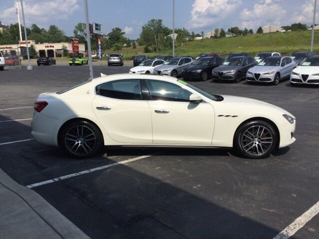 2018 Maserati Ghibli Base Sedan 4 Door 3.0L V6 Engine