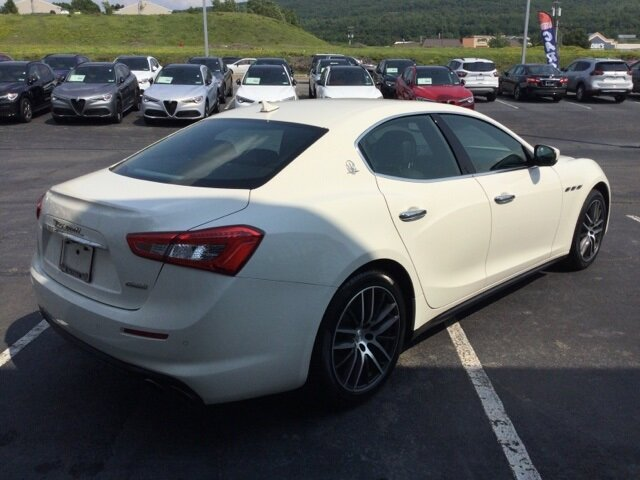 2018 Maserati Ghibli Base 3.0L V6 Engine RWD Sedan 4 Door Automatic