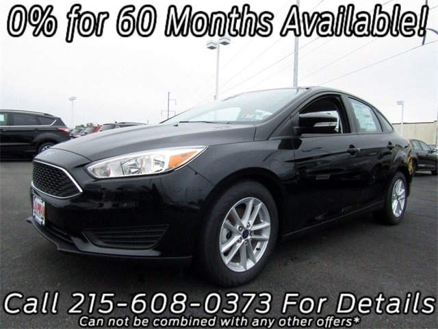 2018 Ford Focus SE FWD 4 Door Automatic I4 Engine