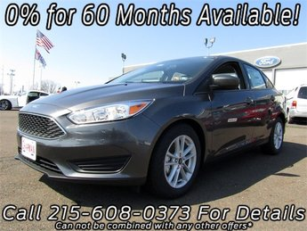 2018 Magnetic Metallic Ford Focus SE FWD 4 Door Automatic I4 Engine