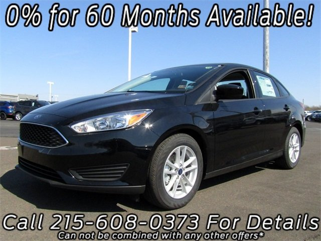 2018 Shadow Black Ford Focus SE Automatic 4 Door Sedan
