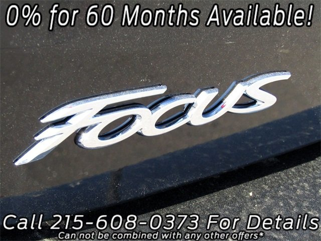 2018 Shadow Black Ford Focus SE 4 Door I4 Engine Automatic FWD Sedan