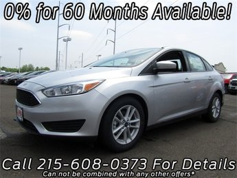 2018 Ford Focus SE Automatic FWD I4 Engine 4 Door Sedan