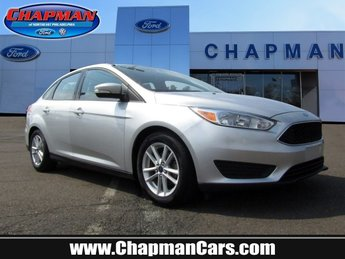 2016 Ingot Silver Ford Focus SE Sedan Regular Unleaded I-4 2.0 L/122 Engine FWD 4 Door