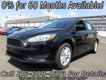 2018 Ford Focus SE 4 Door Automatic Sedan FWD
