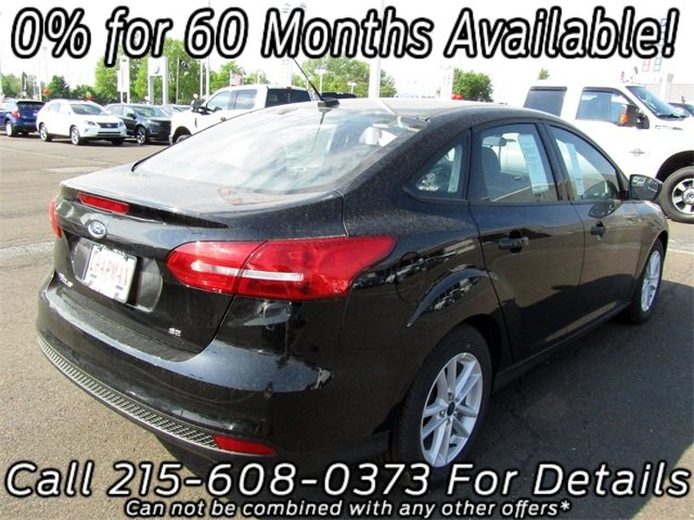 2018 Ford Focus SE FWD Automatic 4 Door Sedan I4 Engine
