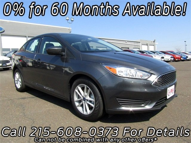 2018 Ford Focus SE I4 Engine 4 Door Sedan FWD