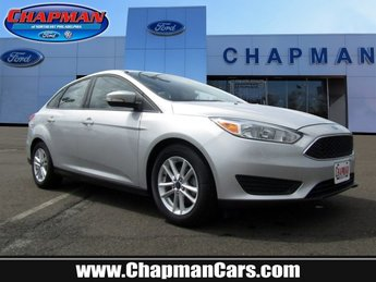 2015 Ford Focus SE Sedan 4 Door Manual FWD Regular Unleaded I-4 2.0 L/122 Engine