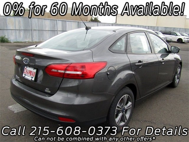 2018 Magnetic Metallic Ford Focus SE Automatic FWD Sedan 4 Door EcoBoost 1.0L I3 GTDi DOHC Turbocharged VCT Engine