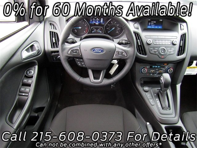 2018 Ford Focus SE FWD EcoBoost 1.0L I3 GTDi DOHC Turbocharged VCT Engine Sedan 4 Door Automatic